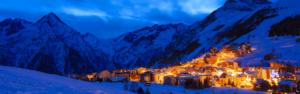 La station de ski des 2 Alpes