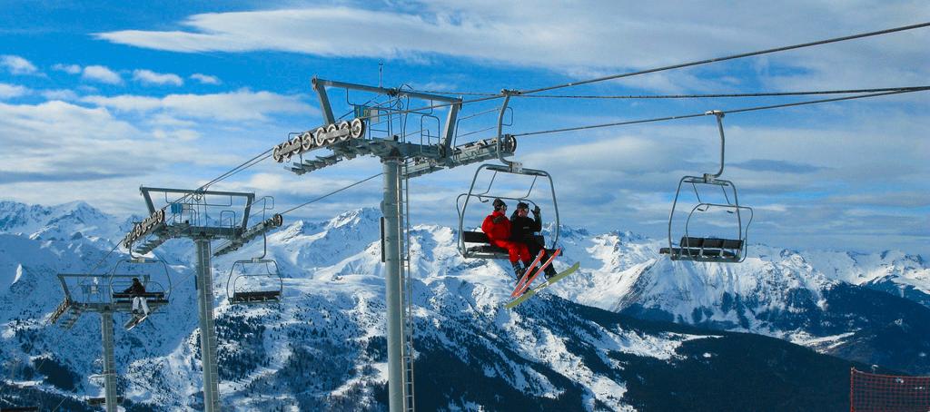 Station de ski la Tania