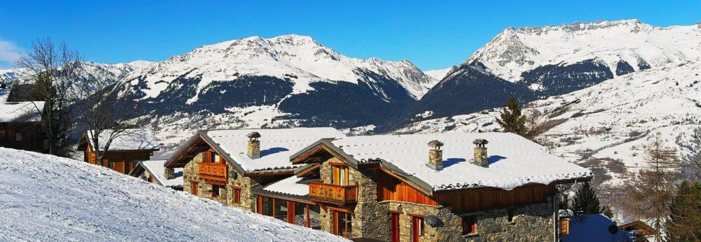 Montchavin les Coches Station de Ski